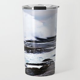 Ferocious Ocean -- Peggy's Cove, Nova Scotia  Travel Mug