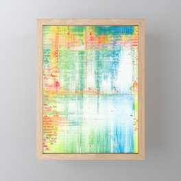 Evangeline (Abstract #081) Framed Mini Art Print