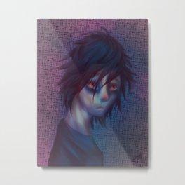 Daemon Character portrait Metal Print
