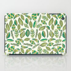 Tropical Jungle Leaves iPad Case