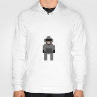 robocop Hoodies featuring Robocop by Pixel Icons