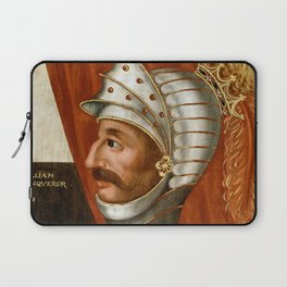 Vintage William The Conqueror Painting Laptop Sleeve