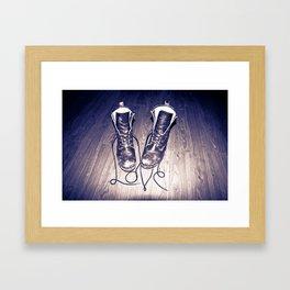 Tough Love Framed Art Print