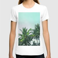 palm trees T-shirts featuring Palm Trees by Sweet Karalina