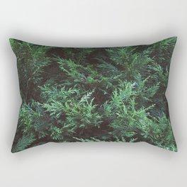 Into the wood Rectangular Pillow