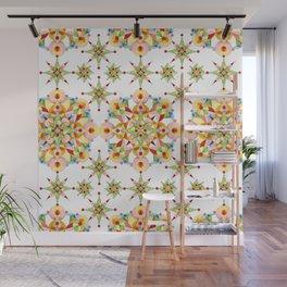 Sparkly Carousel Confetti Wall Mural