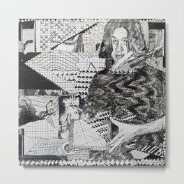 """P002 - Fantasna """"Cosas del Cuore EP"""" (by Victor Espinoza) Metal Print"""