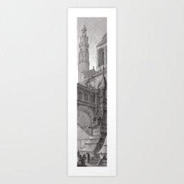 Tower 3 Art Print