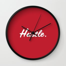 Hustle. Wall Clock