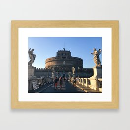 The other big circle in Rome Framed Art Print