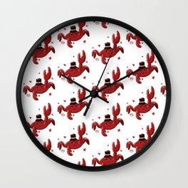 Un Cangrejo Chachi Wall Clock