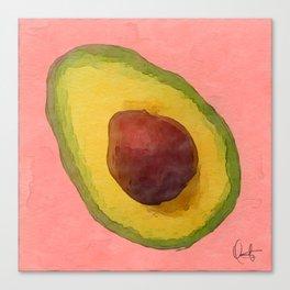 Avocado for Lola Canvas Print