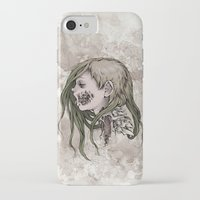 gore iPhone & iPod Cases featuring Gore Girl by Savannah Horrocks
