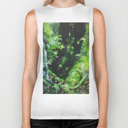 princess mononoke forest Biker Tank
