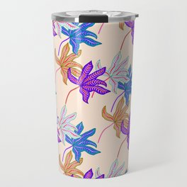 colourful autumn leaves Travel Mug