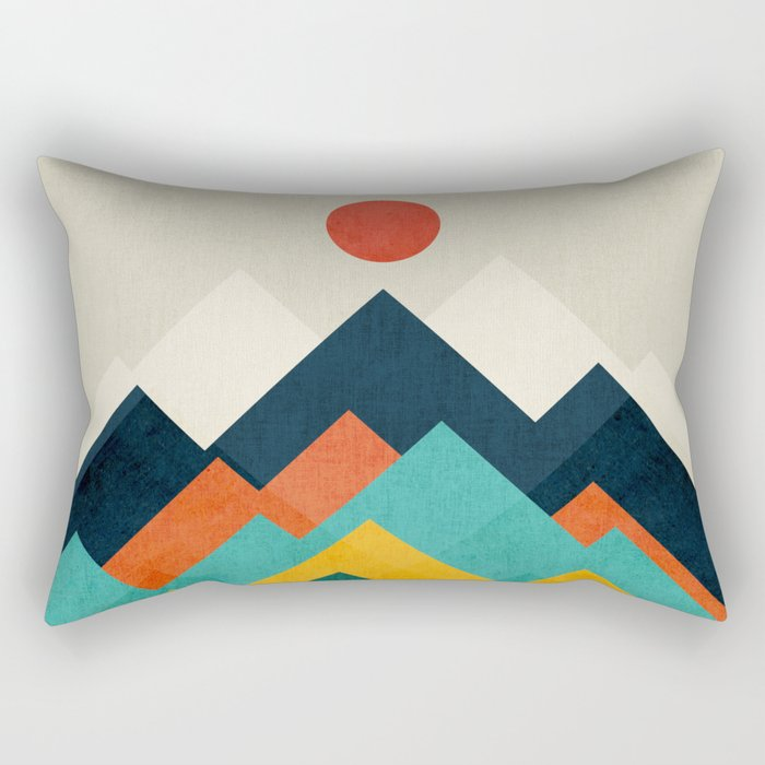 The hills are alive Rectangular Pillow