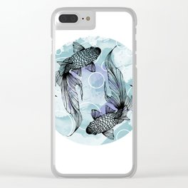 Synchronized Swimming Clear iPhone Case