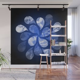 Abstract Water Drops XX Wall Mural
