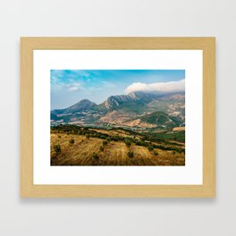 Jebel Musa (Morocco) Framed Art Print