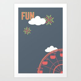 What Are We For: Fun Art Print