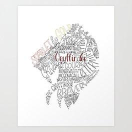 House Crest Art Print