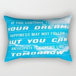 Tomorrow's Chase Rectangular Pillow