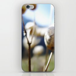 Abstract Flowers iPhone Skin