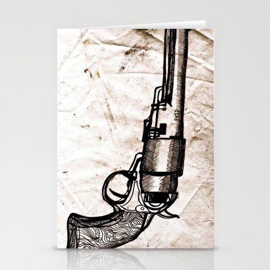 American Pistol II Stationery Cards