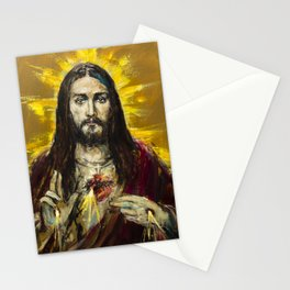Cor Jesu Sacratissimum Stationery Cards