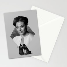 The woman who beat you Stationery Cards