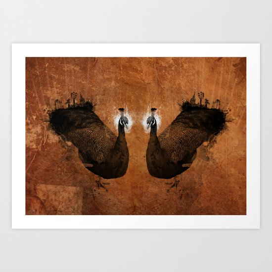 Cosmophores Art Print