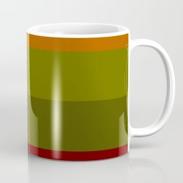 Cool Autumn Leaves - Color Therapy Coffee Mug