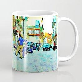 People on the street Coffee Mug