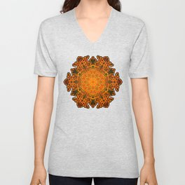 Filigree v1 Unisex V-Neck