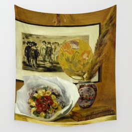 Still Life with Bouquet Wall Tapestry