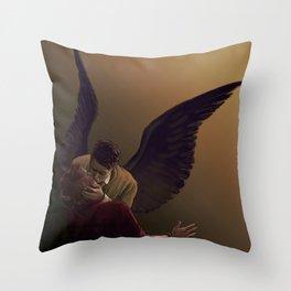 A Kiss Throw Pillow