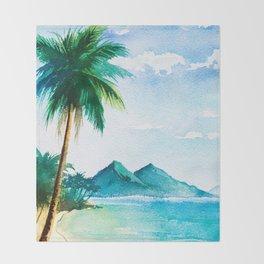 Sea scenery #9 Throw Blanket