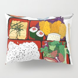 Japanese Bento Box Pillow Sham