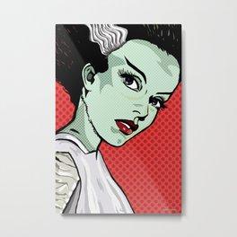 The Bride of Lichtenstein Metal Print