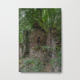 Derelict Cottage Metal Print