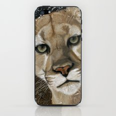 Mountain Lion iPhone & iPod Skin