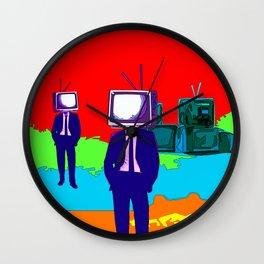 TV-Heads Wall Clock