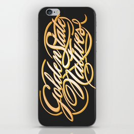 Golden State Natives iPhone Skin