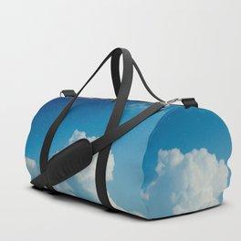 Cumulonimbus Clouds and Stars Duffle Bag