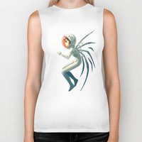 contact Biker Tanks featuring Contact by Freeminds