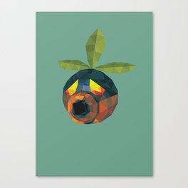 Majoras Mask Deku Scrub Canvas Print