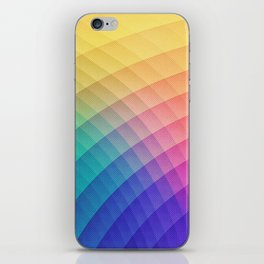 Spectrum Bomb! Fruity Fresh (HDR Rainbow Colorful Experimental Pattern) iPhone Skin