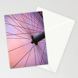 Lavender Sky and Wheel Stationery Cards