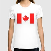 canada T-shirts featuring Canada by McGrathDesigns