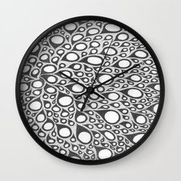 Ghost Lights Wall Clock